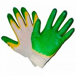 Перчатки хб с двойным...