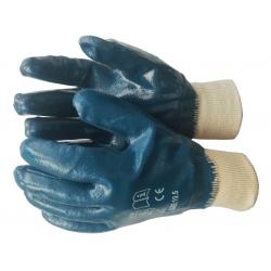 Перчатки нитриловые манжет...